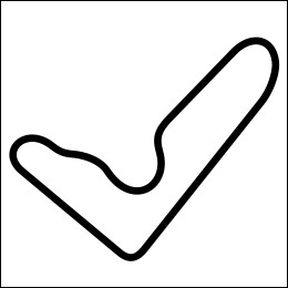 HighgateHouse Circuit Decal - Barbagallo Raceway Long Circuit