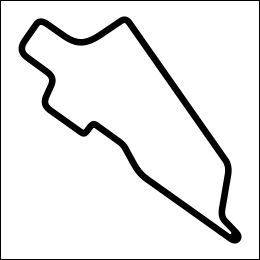 HighgateHouse Circuit Decal - Aragon Nacional De Coches