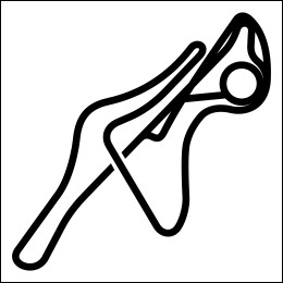 HighgateHouse Circuit Decal - Ferrari Maranello Test Track