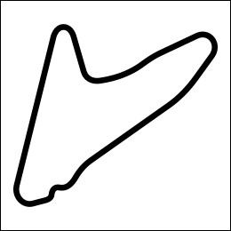 HighgateHouse Circuit Decal - Dubai Autodrome Hill Circuit