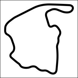 HighgateHouse Circuit Decal - Virginia International Raceway North Circuit