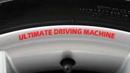 BMW Ultimate Driving Machine Wheel Rim Decals by HighgateHouse