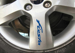 Ford Fiesta Wheel Rim Decals by HighgateHouse