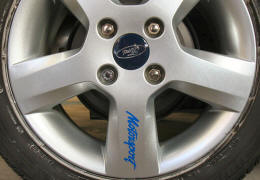 Ford Motorsport Wheel Rim Decals by HighgateHouse