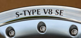 HighgateHouse Decals for Jaguar S-Type V8 SE Wheels