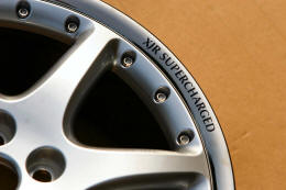 HighgateHouse Decals for Jaguar XJR Supercharged Wheels