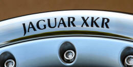 HighgateHouse Decals for Jaguar XKR Wheels