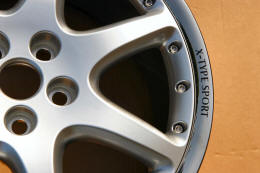 HighgateHouse Decals for Jaguar X-Type Sport Wheels