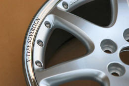 HighgateHouse Decals for Jaguar X-Type Sovereign Wheels