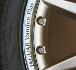HighgateHouse Decals Jaguar Vanden Plas Wheels