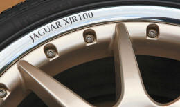 HighgateHouse Decals for Jaguar XJR100 Wheels