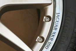 HighgateHouse Decals for Jaguar XKR100 Wheels