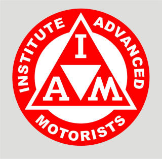 HighgateHouse Decals and Sticker for IAM Institute of Advanced Motorists