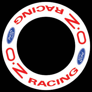 HighgateHouse Wheel Rim Decals - O.Z FORD Racing centre