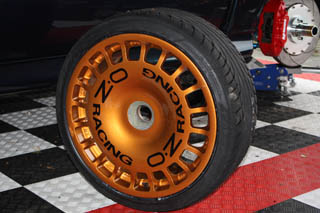 HighgateHouse Wheel Rim Decals - O.Z Racing centre
