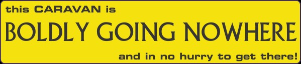Humorour Decal Stickers by HighgateHouse - Boldly Going Nowhere