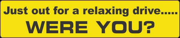 Humorour Decal Stickers by HighgateHouse - Relaxing Drive