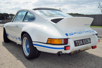 Highgate House Customer Car - Porsche 911 2.7 RS for Bob Spratley