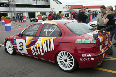 HighgateHouse Customer Car - Alfa 156 super Tourer livery restored for John Clonis & Phil Donaghy at CTR Racing to how the car looked when  Fabrizio Giovanardini raced in 1998