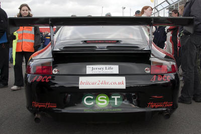 HighgateHouse Customer Car - Porsche 996 GT3 Cup car for CTR Racing / Chris Bentley / Vibe Smed racing in the Britcar Series