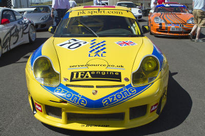 HighgateHouse Customer Car - Porsche GT3 996 Lemans livery restoration for CTR Racing John Clonis