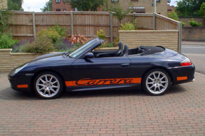 HighgateHouse Customer Car - Porsche 996 Cabriolet