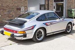 HighgateHouse Martini stripe kit for 911 narrow body
