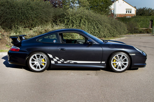 Porsche 996 Chequer Decals by HighgateHouse