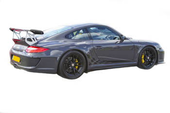 Porsche 997 Gen.2 Chequer Decals by HighgateHouse