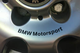 BMW MOTORSPORT Wheel Rim Center Decals by HighgateHouse